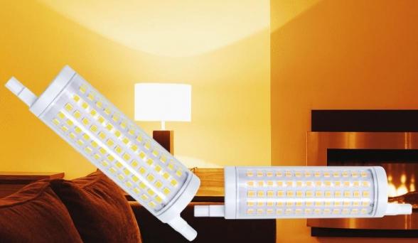 נורות  R7S LED-תואם קוורץ