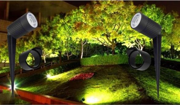 דוקרני גינה LED
