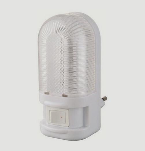 מנורת לילה Dollar-5LED-מפסק לבן קר