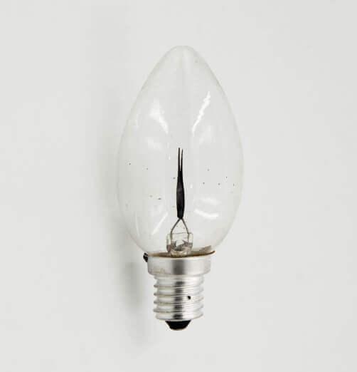 נורה מהבהבת כנר-5000H-אור חם-3W 230V E14