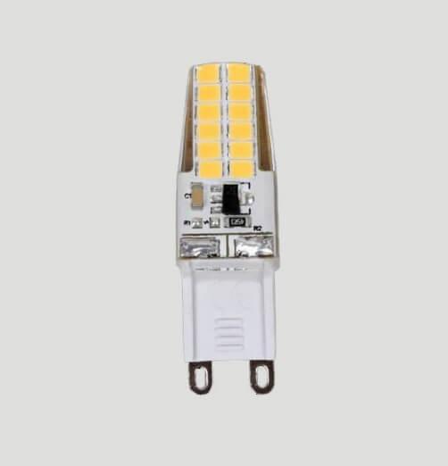 נורת נעיצה לד G9 אור קר LED SLIM G9 5W 230V