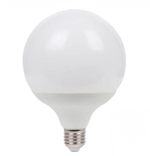 גלוב 120 LED חלבי-אור קר- 20W E27