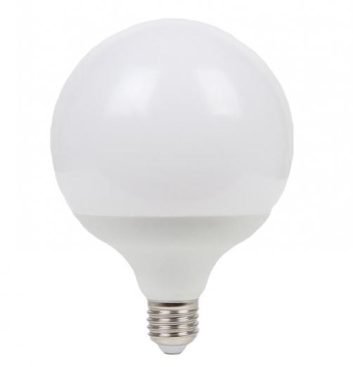 גלוב 120 LED חלבי-אור חם- 20W E27