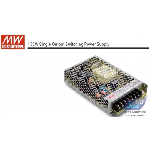 ממיר מתח(שנאי)MEAN WLLL-150W/12V-LRS