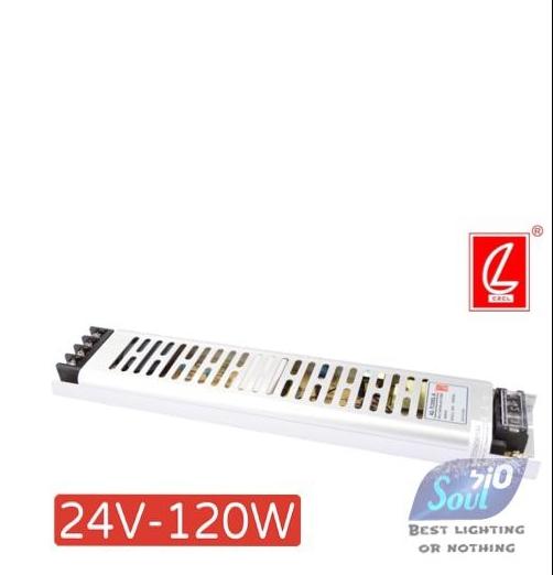 שנאי צר לפרופיל LZCL-120W/24V