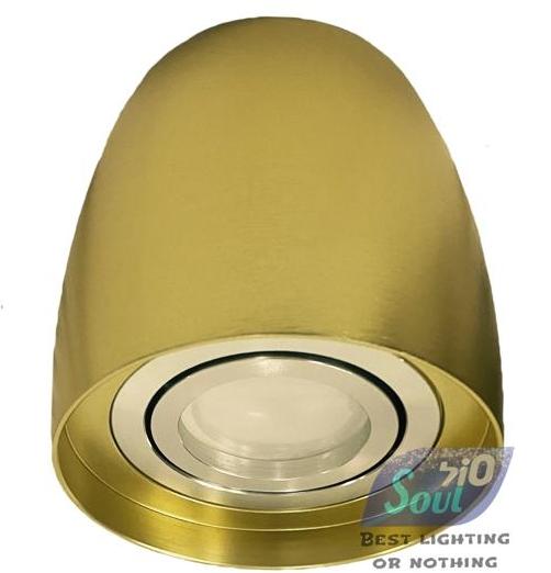 צילינדר שרית-GU10-זהב