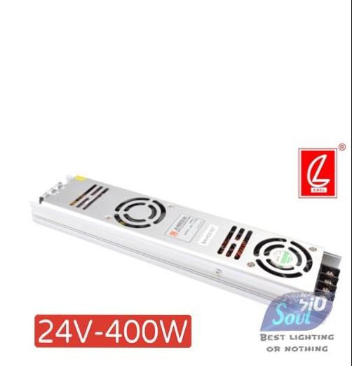 שנאי צר לפרופיל LZCL-400W/24V