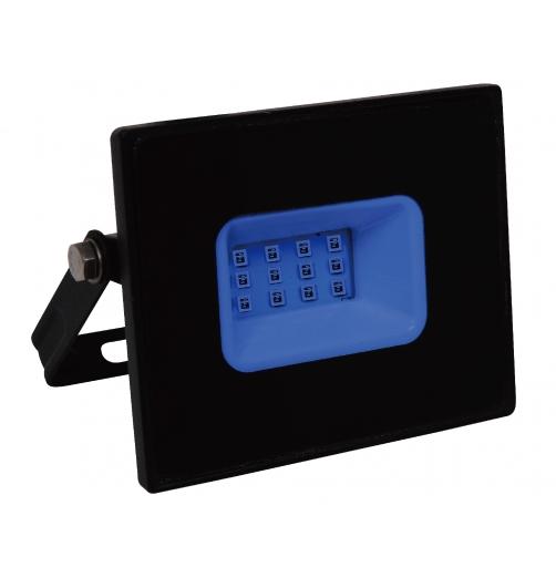 פנס הצפה מקצועי 10W-כחול-RONI LED PRO