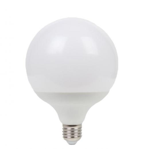 גלוב 95 LED חלבי-אור קר- 15W E27