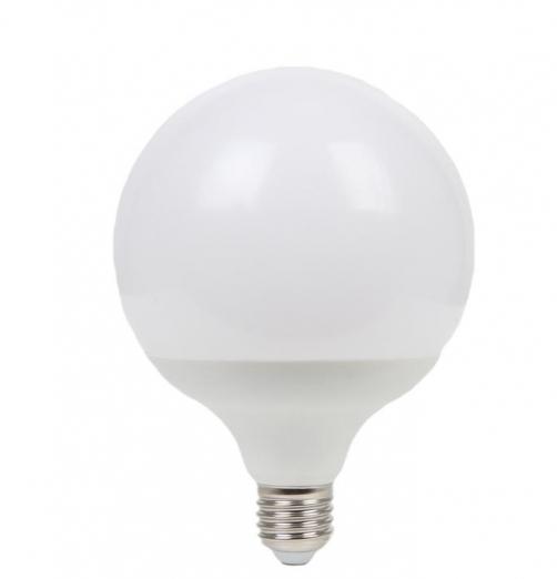 גלוב 95 LED חלבי-אור חם- 15W E27