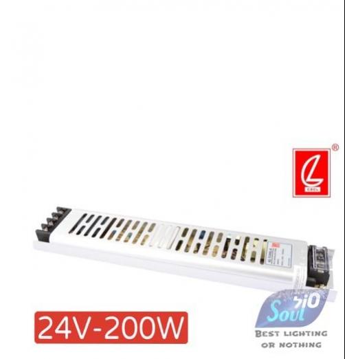 שנאי צר לפרופיל LZCL-200W/24V
