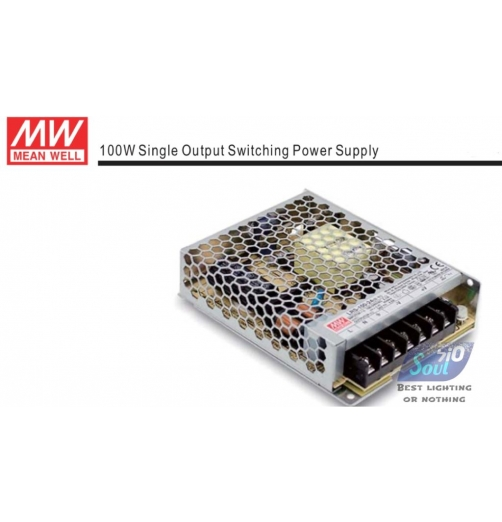 ממיר מתח(שנאי)MEAN WLLL-100W/24V-LRS