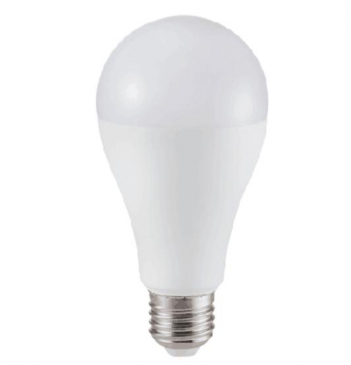 נורת LED ליבון A65-20W E27-אור לבן